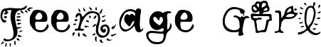 Teenage Girl 3.ttf