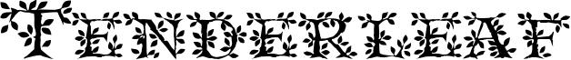 Tenderleaf Font