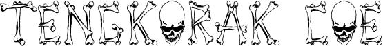 Tengkorak COE Font
