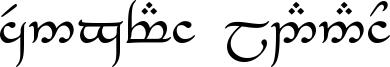 Tengwar Eldanaro Font