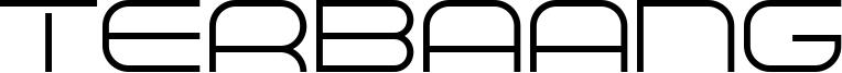 Terbaang Font