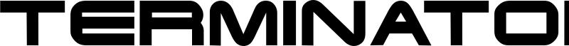 Terminator Font