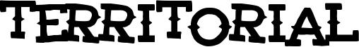 Territorial Font