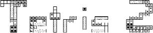 Tetris 2 Font
