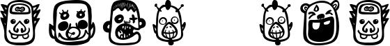 Teubé Bot Font