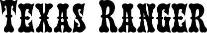 Texas Ranger Font