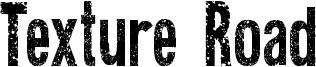 Texture Road Font