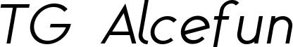 TG Alcefun italic.ttf