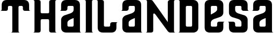 Thailandesa Font