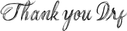 Thank you Drf Font