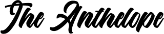 The Anthelope Font