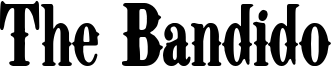 The Bandido Font