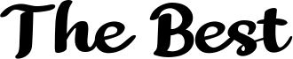 The Best Font