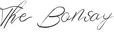The Bonsay Font