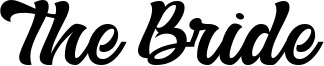 The Bride Font