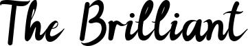 The Brilliant Font