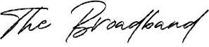 The Broadband Font