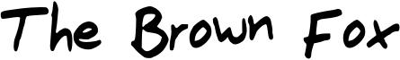 The_Brown_Fox.otf