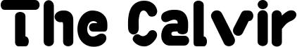 The Calvir Font