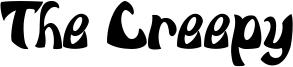 The Creepy Font