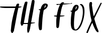 The Fox Font