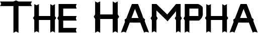 The Hampha Font
