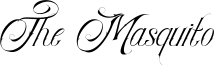 The Masquito Font