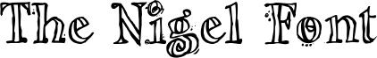 The Nigel Font Font
