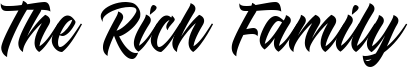The Rich Family Font