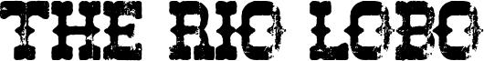 The Rio Lobo Font