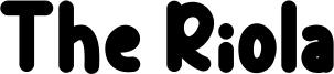 The Riola Font