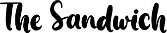 The Sandwich Font