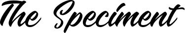 The Speciment Font
