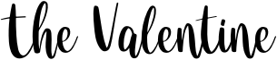 The Valentine Font