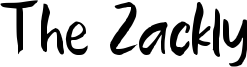 The Zackly Font