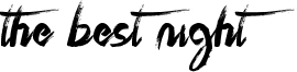 The Best Night Font