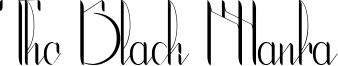 The Black Manba Font