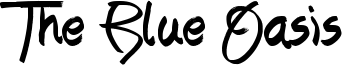 The Blue Oasis Font