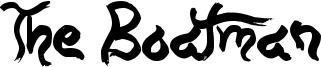 The Boatman Font