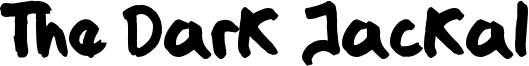 The Dark Jackal Font
