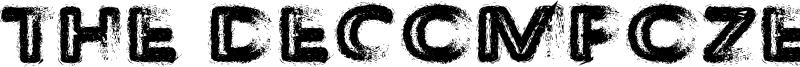 The Decompozed Font