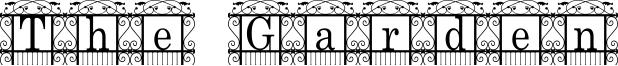 The Garden Font
