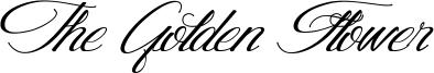 The Golden Flower Font