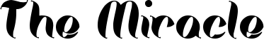 The Miracle Font