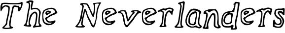 The Neverlanders Font