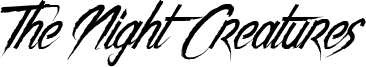 The Night Creatures Font