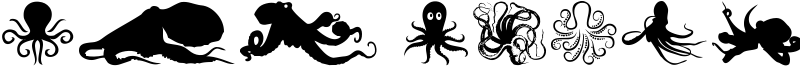 The Octopus Font