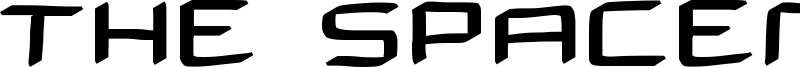 The Spaceman Font