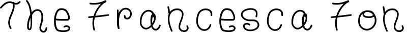 The Francesca Font Font