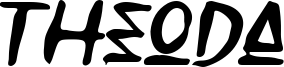 Theoda Font